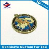 Epossidico personalizzato della medaglia del medaglione con la sagola