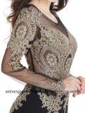 Роскошные Applique ручной работы вечером платье официальных платье элегантный халат