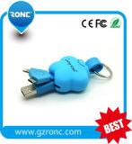 Forma de Estrella cable de datos USB del teléfono móvil