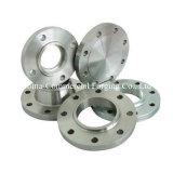 管付属品が付いている弁のための熱い鍛造材のステンレス鋼のフランジ