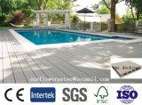 플라스틱 합성 옥외 반대로 미끄러짐 수영풀 WPC Decking를 위한 가격