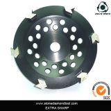 Форму стрелки шлифовки сегментированный наружное кольцо подшипника колеса для конкретных