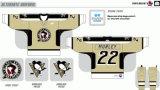 Hokey di ghiaccio americano personalizzato dei pinguini 2001-2003 di Toronto Wilkes-Barrescranton della Lega di Hockey dei capretti delle donne degli uomini Jersey