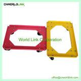 De verschillende Plastic Verhuizer met 4 wielen van de Rol van de Totalisator van de Kleur
