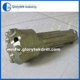 Gl70-75mmのDTHのハンマーのための低い空気圧DTHボタンビット