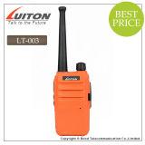 Radio de bolsillo barato Lt-003 UHF portátil de radio de dos vías