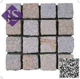 Piedras de pavimentación al aire libre naturales decorativas hermosas del granito