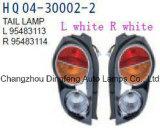 Auto de vuelta/traseras/luz trasera/sustitución de lámparas para Chevrolet Spark OEM#95483113/95483114 2010-2015