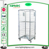 3 lados Nesting a Frame Roll Container