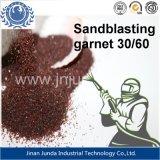 Zand 30/60# van de Granaat van Koc van de Rode Kleur van de Schuurmiddelen van het zandstralen/Waterjet het Scherpe van de Filtratie van het Water met ISO 9001