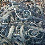 鋼鉄装飾用スクロール11023ロゼットの装飾的な錬鉄のドアスクロール
