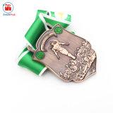 Medaglia miracolosa della guida del premio del ricordo su ordinazione del metallo