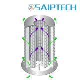 Remplissez la ligne de filtre de fibre lit