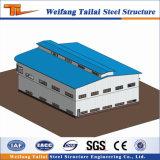 Здание проекта фабрики стальной структуры низкой стоимости полуфабрикат светлое для сбывания