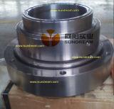 La pompe de dragage de chrome de gravier élevé de sable pour le dragueur ISO9001 a certifié