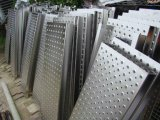 Orifício redondo de alumínio a folha de metal perfurada