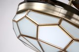 Luz modelo do ventilador de teto 42wf840ab com Lampshade do bronze do diamante