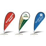 Bandiera su ordinazione della bandierina, bandierina di spiaggia, bandiera volante