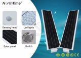 Réverbères solaires complets de DEL pour la plaza de route de grand dos de cour