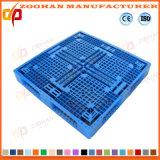 Stapelbare Rasterfeld-Plastikladeplatten-flache Lager-Tellersegment-Ladeplatte (ZHp13)