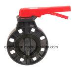 El uso industrial de la válvula de mariposa de PVC de alta calidad con PN16!
