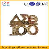 Emblema de denominação original personalizado do metal da lembrança