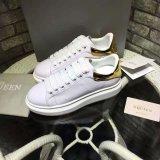 La mode des chaussures de sport Le sport en cuir respirant exécutant occasionnel Blanc Chaussures 35-44