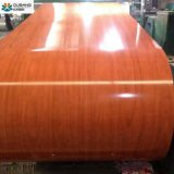 Hölzerne Entwurfs-Farben-überzogener Stahl Coil/PPGI