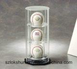 Casella acrilica libera di vendita superiore della sfera della visualizzazione, vetrina di plastica personalizzata della visualizzazione