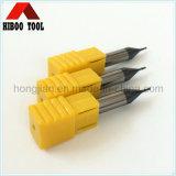 Steel를 위한 2 Cutting Flutes HRC45 Small End Mills