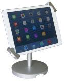 Support d'affichage métallique autonome verrouillable pour iPad