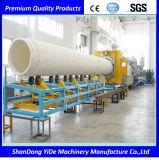 Máquina de la protuberancia del tubo del drenaje de PVC/PE