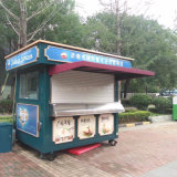 Rue Kiosque distributrices de fast-food