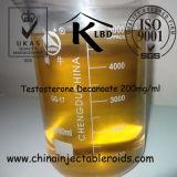 Testosterona semielaborada Decanoate 200mg/ml de los líquidos de los esteroides para el Bodybuilding