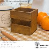 Hongdao dulces de madera personalizado Caja de almacenamiento con el logotipo personalizado Wholesale _E
