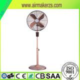 Neues Fernsteuerungsmetallelektrischer Standplatz-Untersatz-Ventilator des timer-16 des Zoll-50W