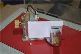 Rigidez em flexão de papelão do equipamento de teste