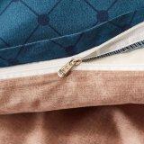 ボヘミア様式エキゾチックなパターンデザインは羽毛布団カバーリバーシブルを2つの枕にせ物とセットされた3部分印刷した