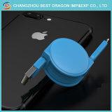 Chargeur rapide escamotable magnétique 3.1 USB câble de données de type C pour iPhone et Android