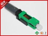 Совместимые SC APC волоконно-оптических Fast Зеленый корпус разъема