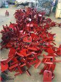 Вилочный захват домкраты регулируемый сооружением Forkhead головки блока цилиндров для луча опалубки конкретные
