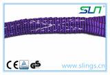 2017 1t*10mポリエステルウェビングの吊り鎖のSfの7:1のセリウムGS