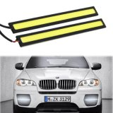 Rouge Bleu Blanc Jaune Couleur 2 PCS Set Imperméable Aluminium Haute Puissance 6W 6000k Xenon Slim COB LED Lampe DRL Daylight Driving Daytime Running Light