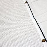 Sistema de la cubierta del edredón del algodón de la galleta 3PCS,
