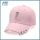 3 anel de metal confortável Casual Hat Chapéu Hip Hop ajustável