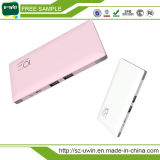 10000mAh Imported Batteries polymères Power Bank Charger