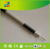 Alta calidad de cable de 50 ohmios coaxial RG58 Dual