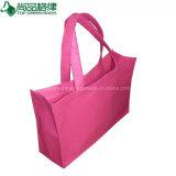 قابل للاستعمال تكرارا [أم] تصميم لباد حقائب حقيبة يد لباد نمو حقيبة لون قرنفل لباد [توت بغ]