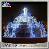 Licht van de Fontein van de Tuin van Kerstmis het Blauwe Grote