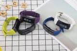 防水心拍数のモニタのIosのためのスマートな腕時計の電話および人間の特徴をもつ健康のスマートな手首